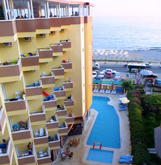 Galaxy Beach Hotel Photo